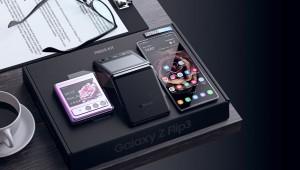 Samsung Galaxy Z Flip3 показали на новых рендерах