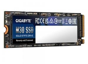 Представлен твердотельный накопитель Gigabyte M30
