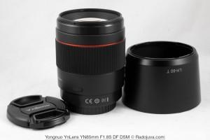 Объектив Yongnuo YN85mm F/1.8 DF DSM оценен в $300