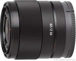 Объектив Sony FE 28mm F/1.8 G засветился на фото
