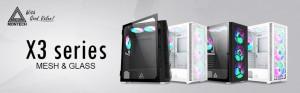 Компания Montech представила два новых корпуса X3 Mesh и X3 Glass