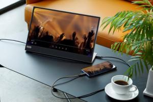 Lenovo L15 Mobile Monitor - портативный монитор поступит в продажу осенью