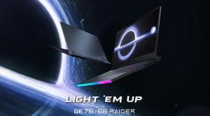 Обновленные ноутбуки MSI GE76 Raider, MSI GE66 Raider, MSI GS66 Stealth появились в продаже