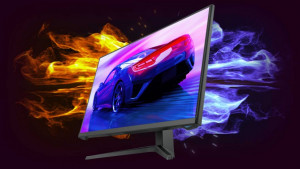 Японская компания Green House Gaming представила монитор GH-ELCG27WA-BK