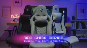 MSI представила серию игровых кресел MAG CH130