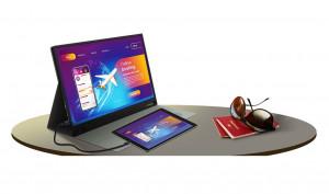 Prestigio представила портативный монитор TwinScreen 16