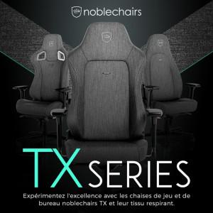 Представлены премиальные игровые кресла noblechairs TX