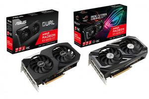 ASUS готовит к выпуску видеокарты ROG Strix Radeon RX 6600 XT и Dual Radeon RX 6600 XT