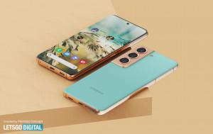 Samsung Galaxy S22 показали на рендерах