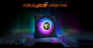 Gigabyte представила вентиляторы серии AORUS ARGB