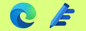 Microsoft Edge интегрирует Microsoft Editor для проверки орфографии и грамматики.
