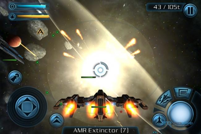 Galaxy on fire 2 hd iphone screenshot