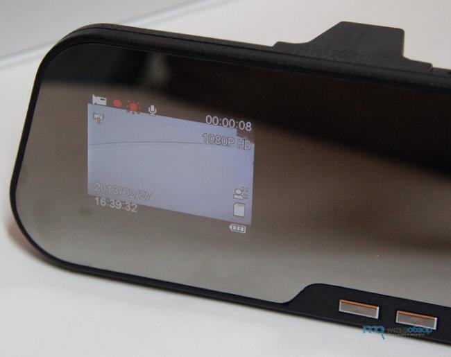 Обзор и тесты Rearview X888B. Видеорегистратор зеркало