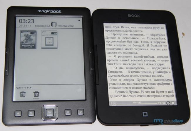 Обзор и тесты Gmini MagicBook R6L. Бюджетная электронная книга с подсветкой Glowlight