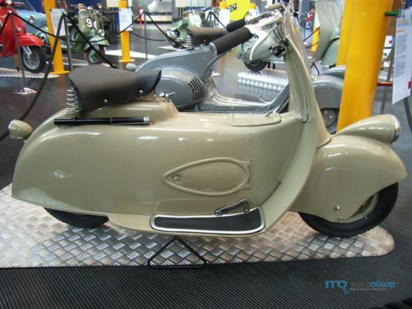 Предок современных мотоциклов – мотороллер Муравей