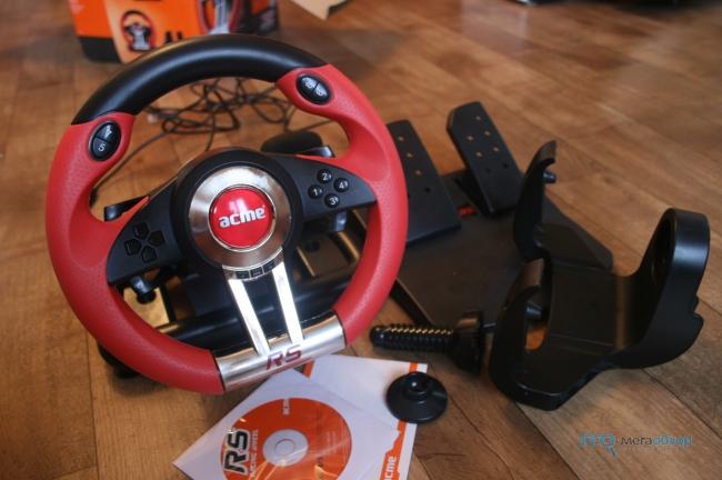 Acme Racing Wheel Rs скачать драйвер - фото 3