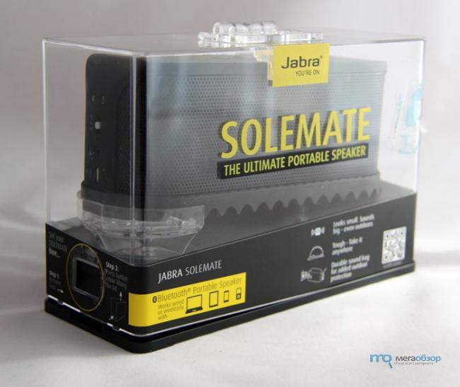 Обзор и тесты Jabra Solemate. Молодежная портативная акустика для пляжа и активного отдыха