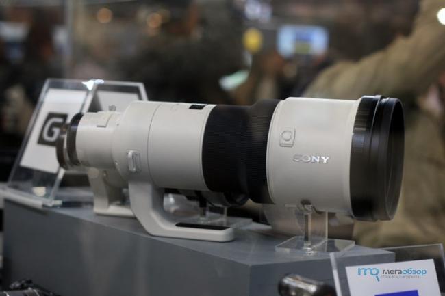 Sony Alpha SLT-A99 на выставке Consumer Electronics & Photo Expo 2013