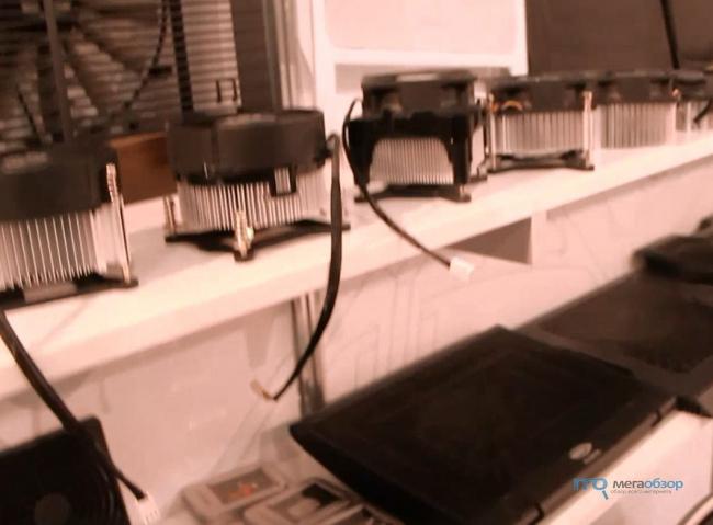 Системы воздушного охлаждения ALSEYE Corporation на выставке CES 2013
