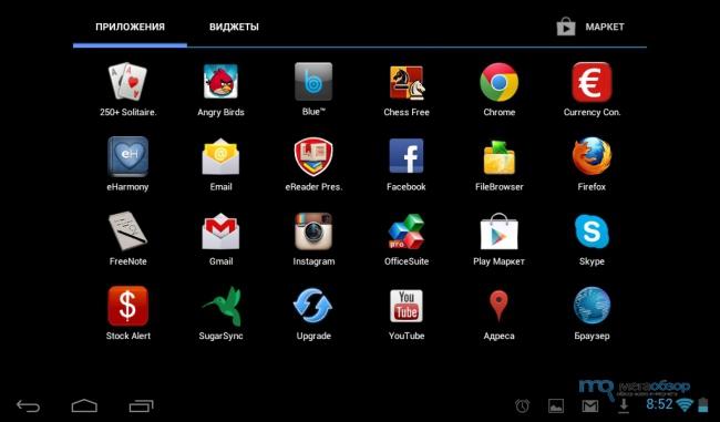 Android 4.1 в Prestigio MultiPad 7.0 Prime Duo