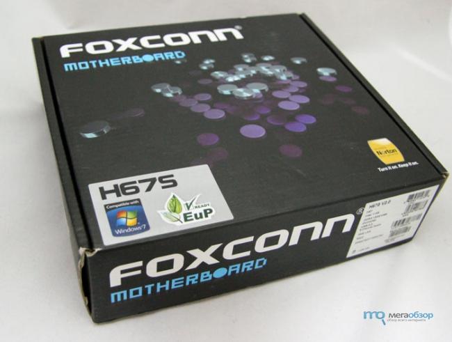 ����� � ����� Foxconn H67S. ����������� ����� �� ������� Intel H67 ��� ����-������
