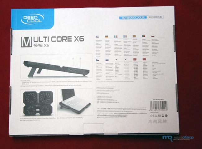 ����� � ����� Deepcool Multi Core X6. ����������� ������������