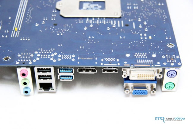 ����� � ����� Foxconn B75M. ��������� ����� � �������� �������������