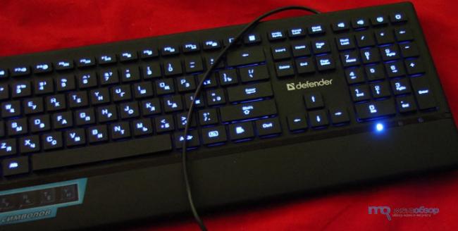 Обзор и тесты Defender Oscar SM-660L. Тонкая клавиатура со светодиодной подсветкой