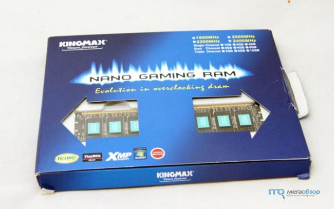 Обзор и тесты KINGMAX Nano Gaming RAM 2400МГц 2x4ГБ. Память Nano Gaming Ram с оригинальным охлаждением
