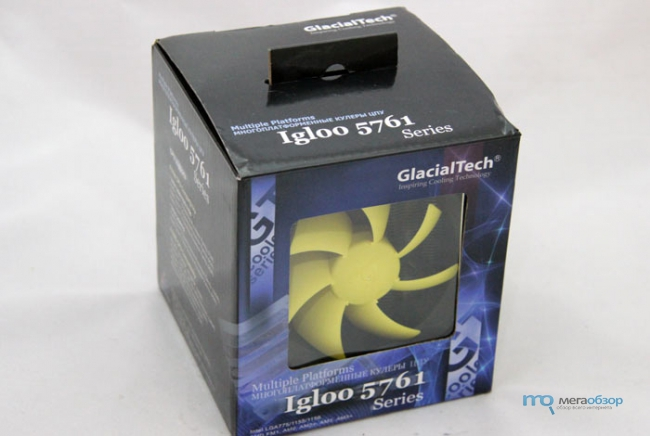 Обзор и тесты GlacialTech Igloo 5761. Маленький, да удаленький кулер CPU