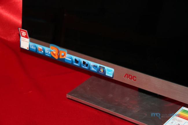 Обзор и тесты AOC d2757Ph. Самый доступный 27 дюймовый 3D монитор с IPS матрицей