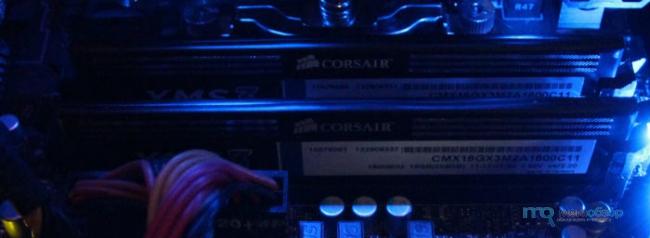 ����� � ����� Corsair CMX16GX3M2A1600C11. ������ ������ ����� Corsair CMX3 � ����������� �����������