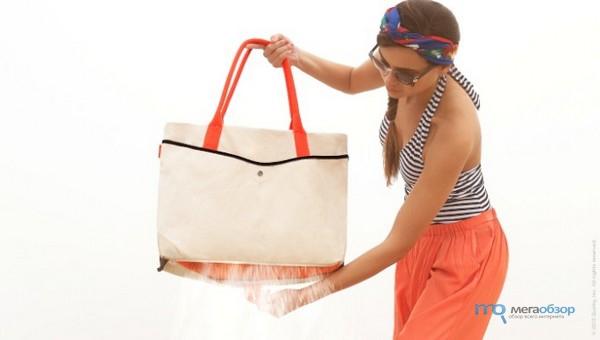 Коллекция пляжных сумок The Shake Tote