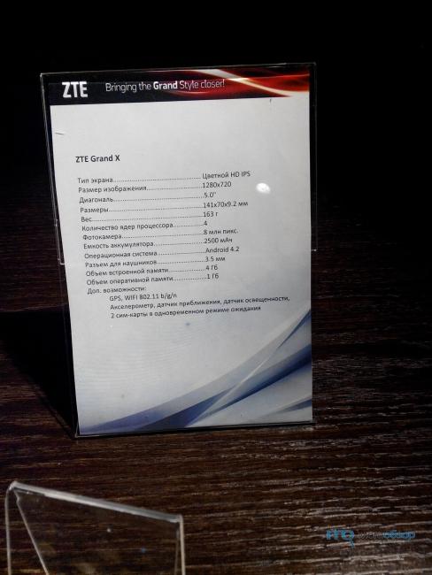 Обзор и тесты ZTE Grand Memo