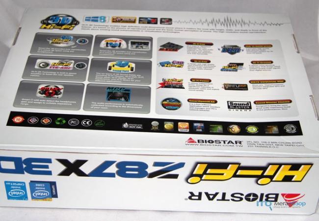 Biostar Hi-Fi Z87X 3D ITE CIR Drivers for Mac Download