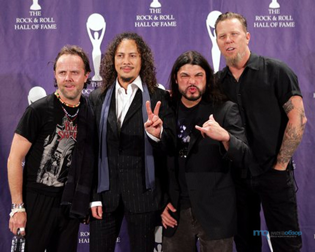 account of the history and works of metallica