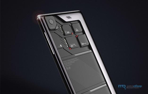 ZTE ECO-MOBIUS концепт модульного смартфона на Google Android
