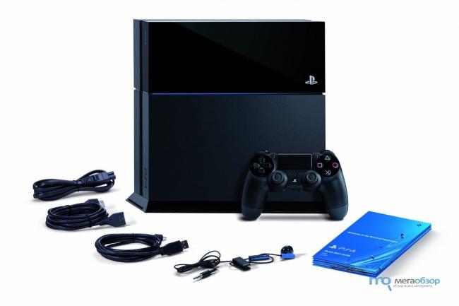Playstation 4 распаковка