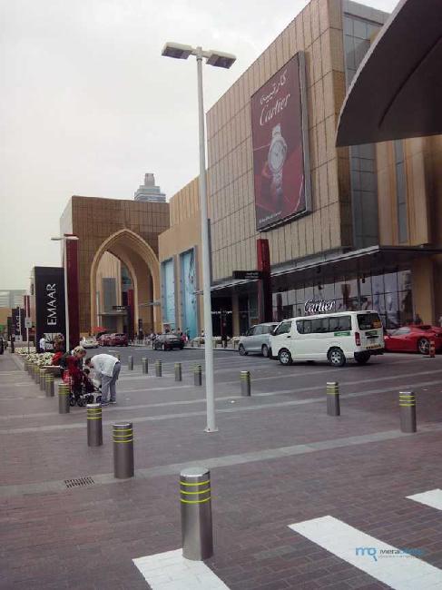 в каком районе находится Дубай молл