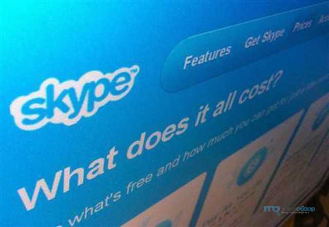 Прекращение работы программы skype