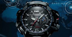 Casio G-SHOCK GPW-1000 с GPS