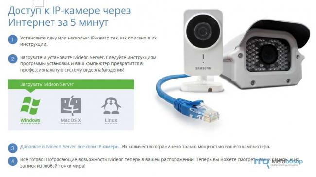 Видеонаблюдение через веб камера своими руками