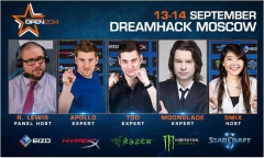DreamHack Moscow успешно стартовал