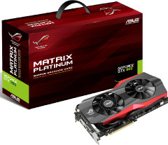 Asus представила видеокарту GeForce GTX 980 ROG Matrix Platinum