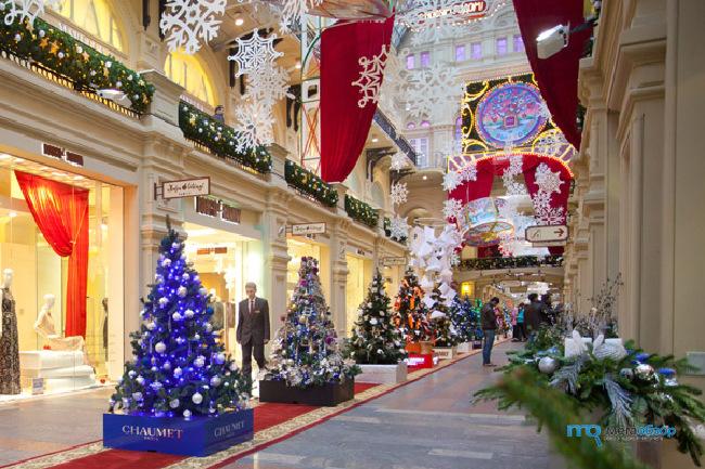 Новогодние выставки в москве