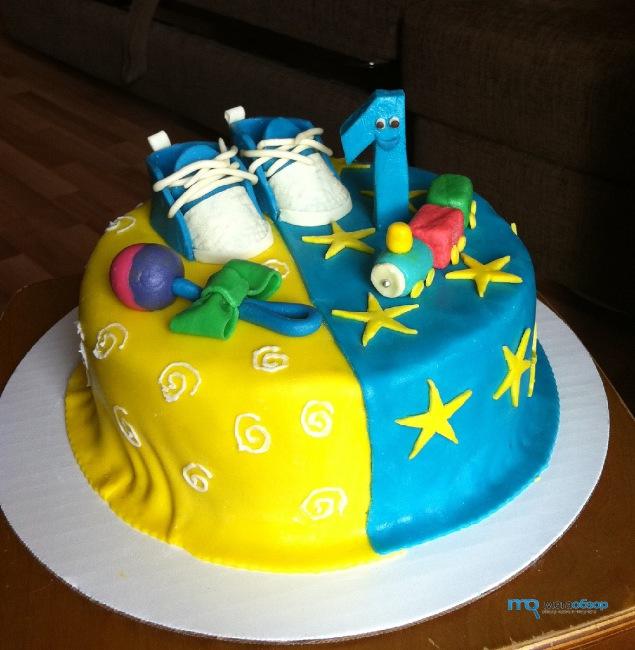 Торты для детей на день рождения с фото своими руками