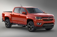 Спортивный Chevrolet Colorado