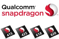 Представлены новые чипы среднего уровня Qualcomm Snapdragon 415, 425, 618 и 620
