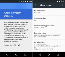 Android 6.0 Marshmallow постепенно добираются до Android One