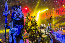 Comic Con 2015 : косплей-шоу League of Legends под музыку DJ SONA